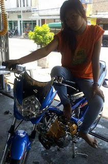 Cara memanaskan motor pagi hari.
