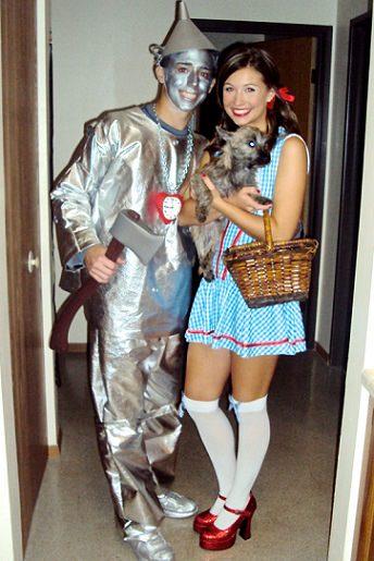 disfraz casero de mago de oz para parejas