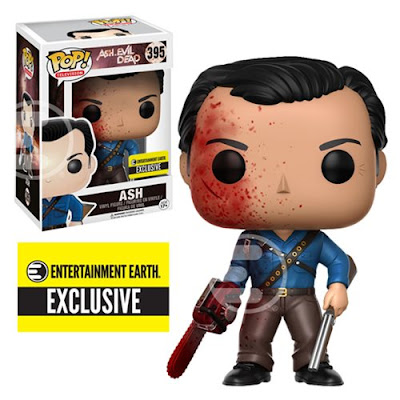 Entertainment Earth Exclusive Ash vs Evil Dead Bloody Edition Ash Pop! Vinyl Figure by Funko