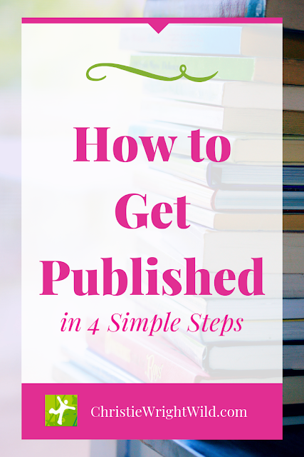 How do you get a book published? You have to have a great book, make an important decision, do lots of research, and be very, very patient.