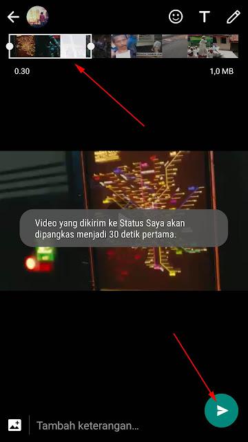 Cara Membuat Status WA Dengan Video Berdurasi Panjang 4