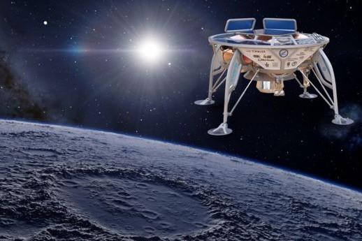 مركبة إسرائيلية تفشل في الهبوط على سطح القمر
