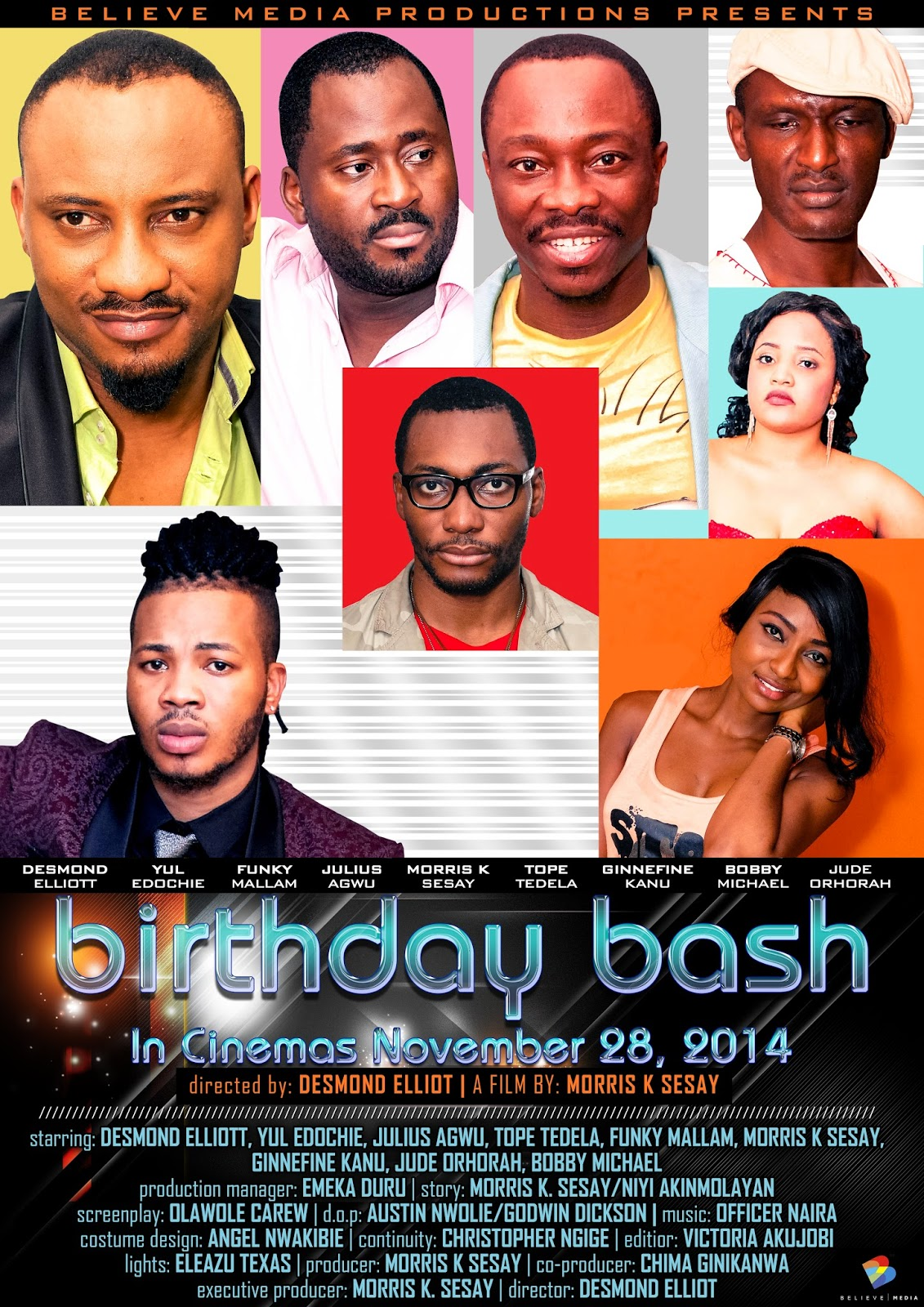 birthday bash nollywood movie