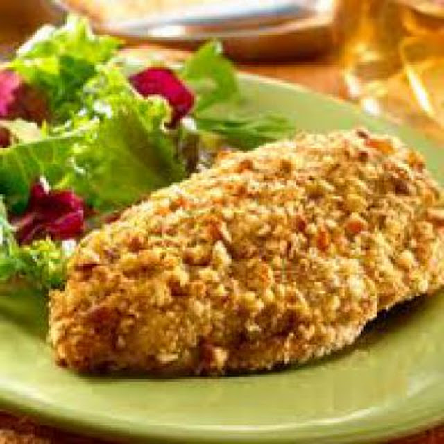 Biggest Loser Pecan-Crusted Chicken , weight watchers recipes , 5 smart points