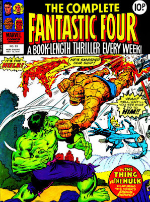 Complete Fantastic Four #33, the Hulk