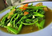Cooking Recipes Cah Kangkung Seafood Hot Plate