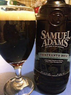 Samuel Adams Thirteenth Hour Dark Belgian Ale 1