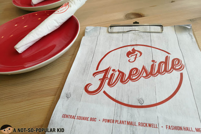 Fireside by Kettle Menu