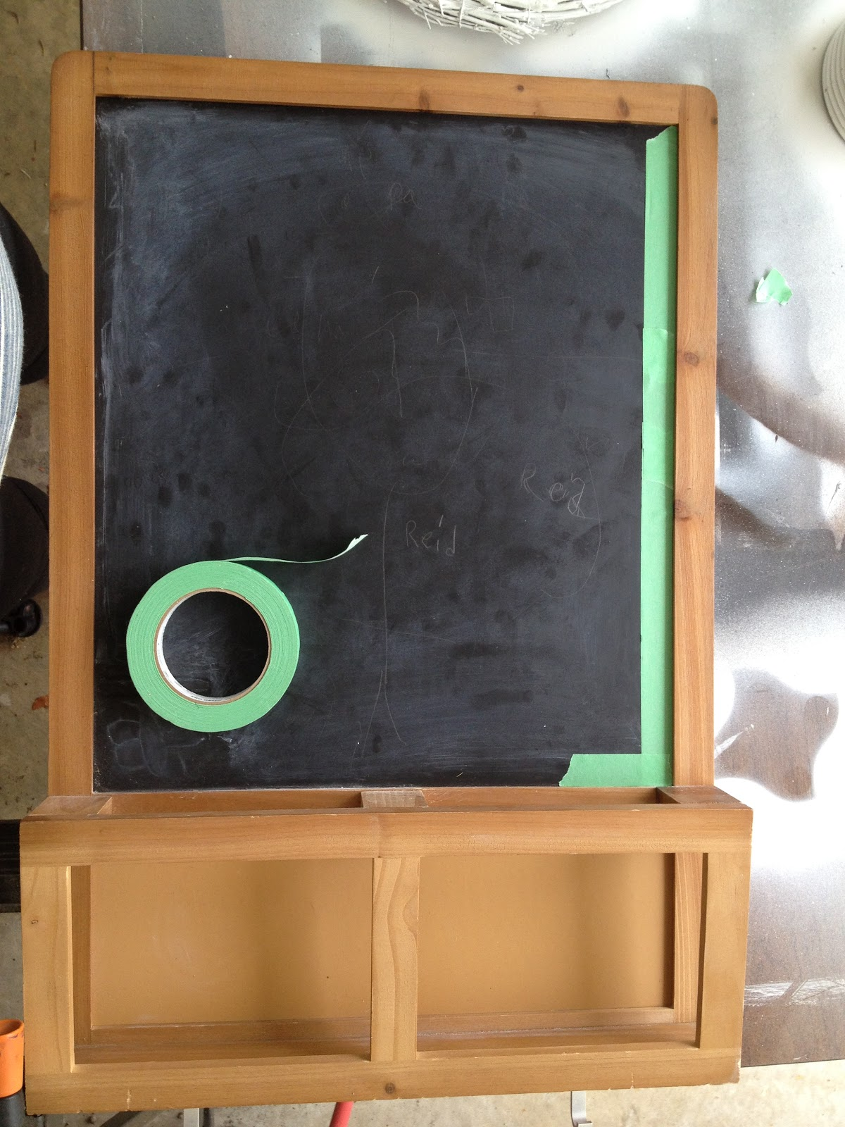 All About The Cozy Revamped Ikea Chalkboard
