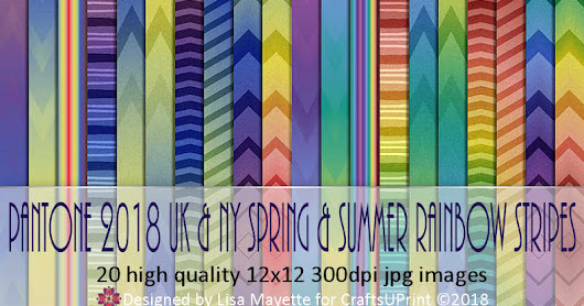 Free Rainbow Zebra Floral Background