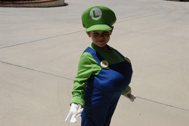 cute grandson wearing his costume: LadyD Books