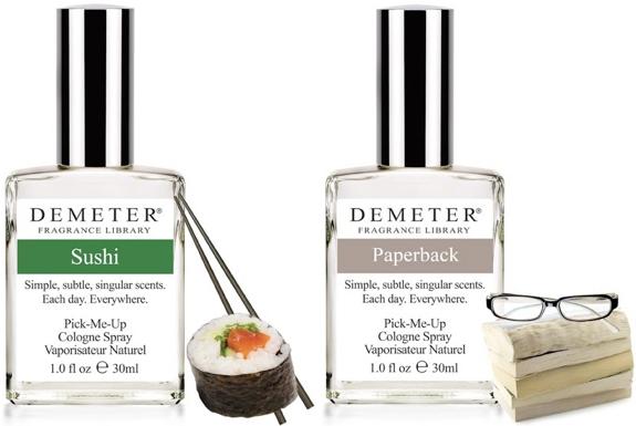 parfum unik dan aneh dengan aroma bau sushi dan juga aroma kertas