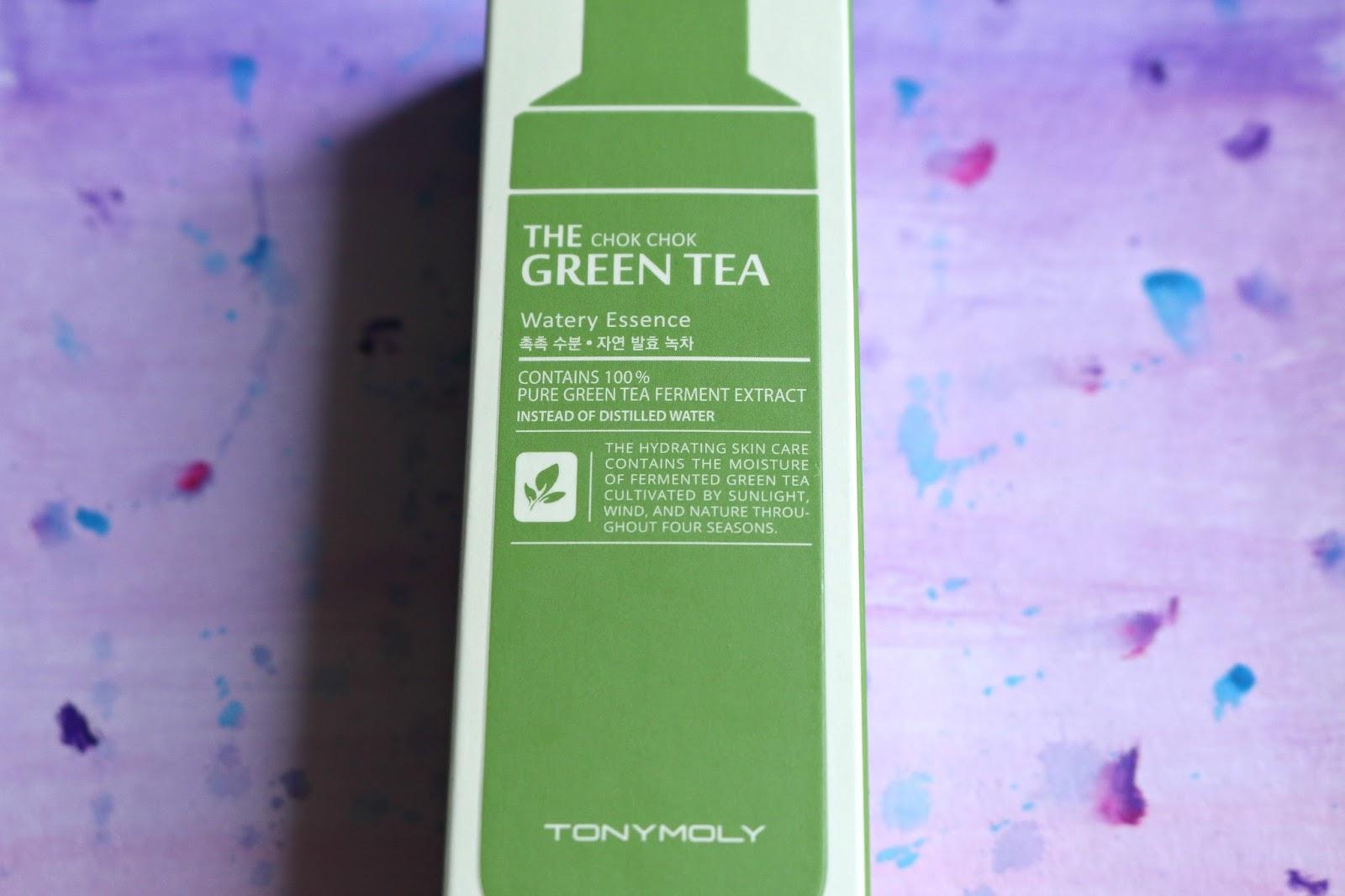 The Chok Chok Green Tea Watery Essence by TONYMOLY #19