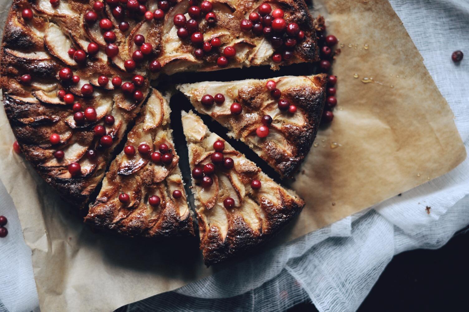 ITALIAN APPLE CAKE | Itāļu ābolu kūka