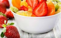 ¿Cuántos pesticidas disruptores hay en una macedonia de frutas?