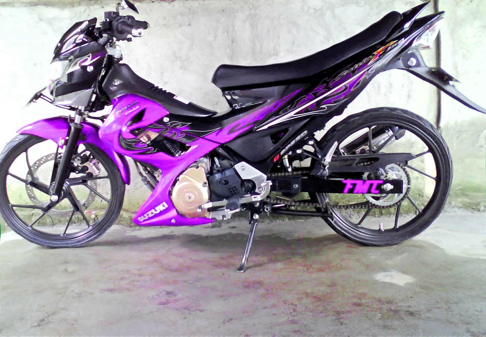 Modifikasi Motor Suzuki Satria FU Zutonx Blog