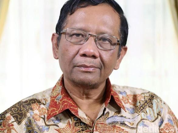 Kader PDIP Geruduk Radar Bogor, Begini Tanggapan Mahfud MD