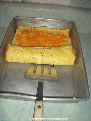 Margaret's Morsels | Baked Omelet Roll