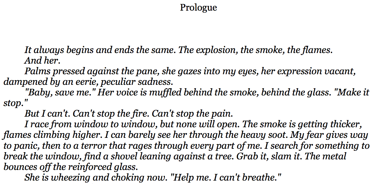 Crime Fiction Collective: To Prologue or not to Prologue