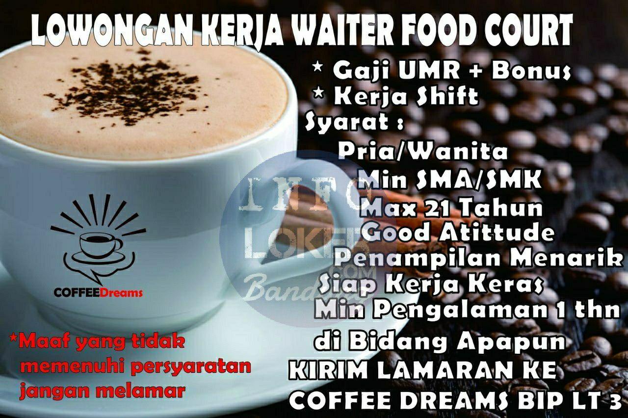 Lowongan Kerja Coffee Dreams BIP Bandung April 2018