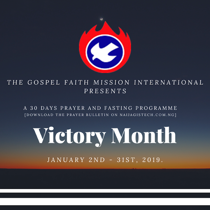 Gofamint Victory Month Prayer Bulletin 2020 [PDF]
