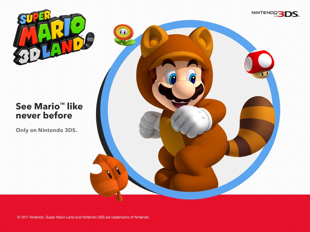 SUPER MARIO 3D LAND VIDEOGAME WALLPAPERS
