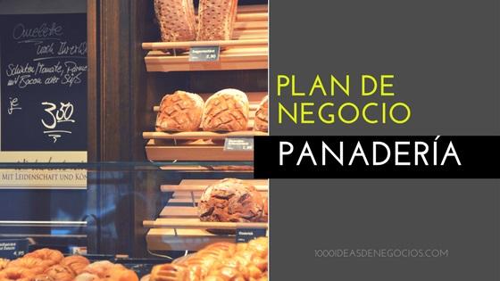 Plan de negocio panadería
