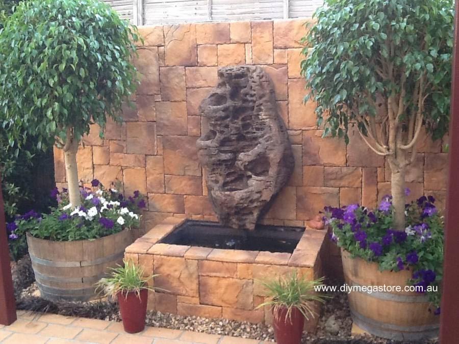 Fuentes De Piedra Para Jardin Trendy Fuente De Piedra Para Pared - Fuentes-de-piedra-de-pared