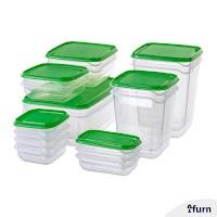 Kotak Makanan Set Isi 17