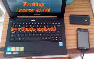 Cara Flash Lenovo a316i di Windows 8