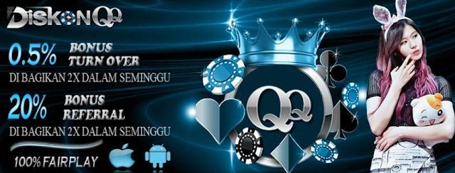 QQ-diskon: Bandar Poker Terbaik dan Terpercaya di Asia