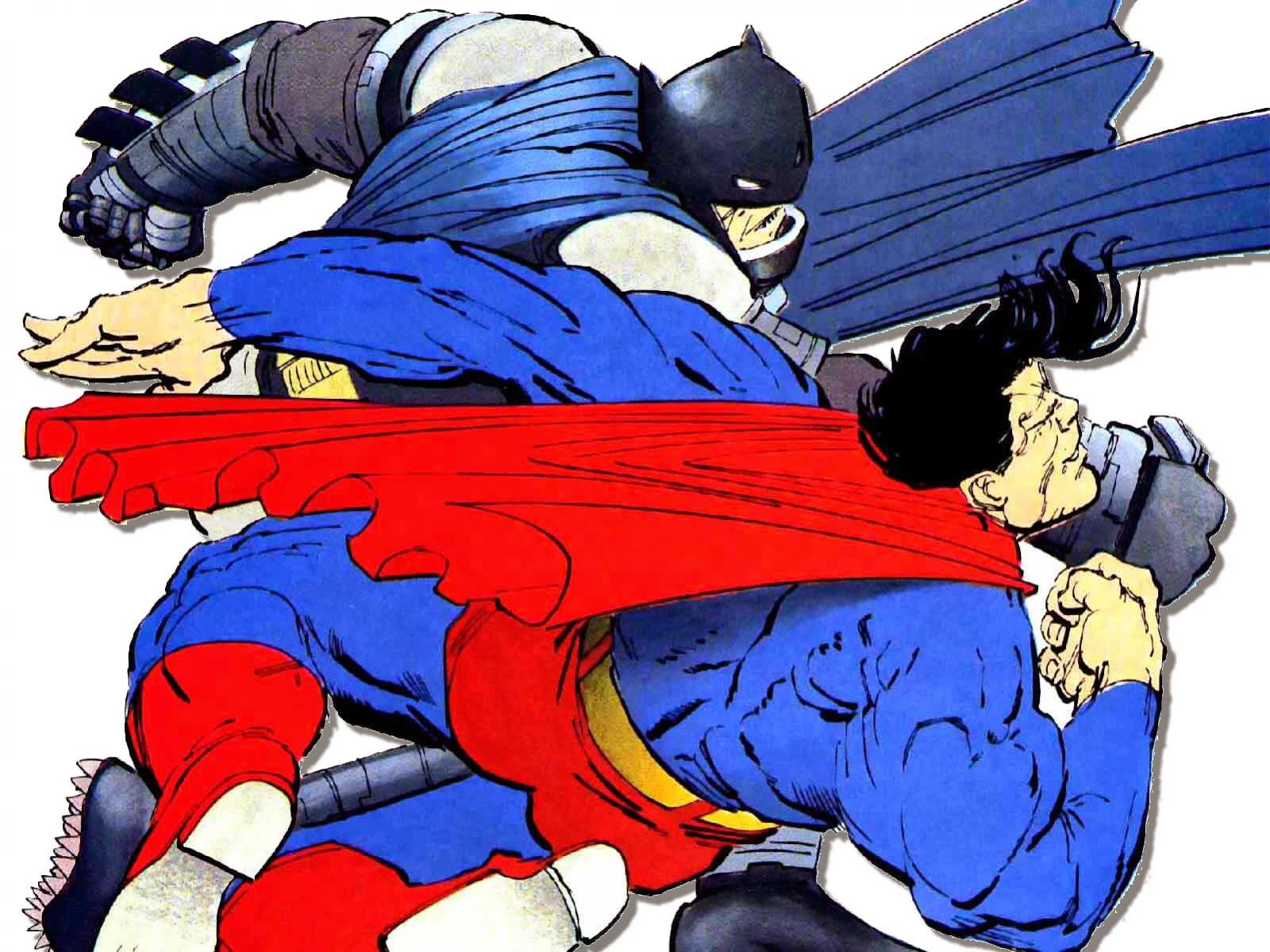 Superman vs Batman en cómic