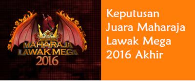 Juara Maharaja Lawak Mega 2016 Final