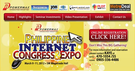 PHILIPPINE INTERNET CONGRESS AND EXPO TO BE HELD ON MARCH 9-11