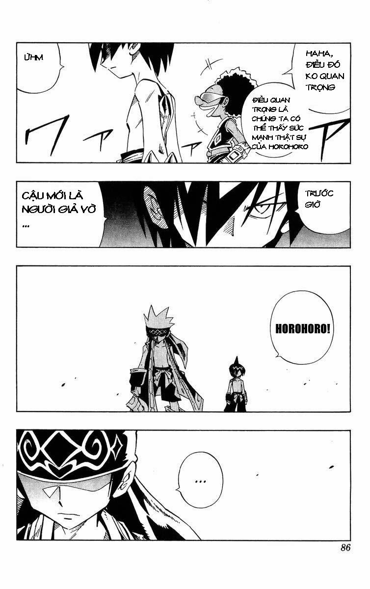 Shaman King [Vua pháp thuật] chap 228 trang 16