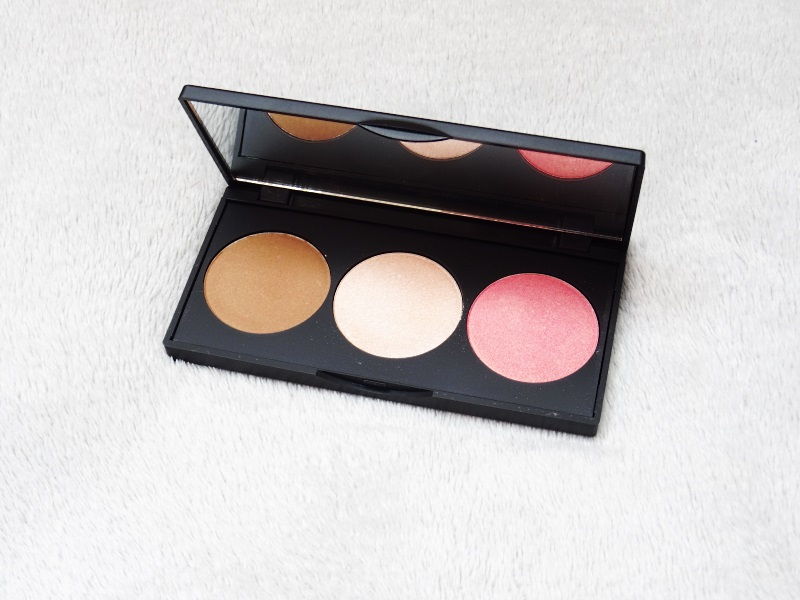 palette golden rose trio de fards