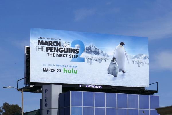 March of Penguins 2 Next Step billboard