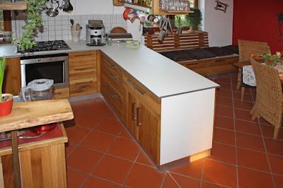 Linoleum Arbeitsplatte Küche