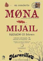 Concierto de Mona y Mijail en Maravillas Club