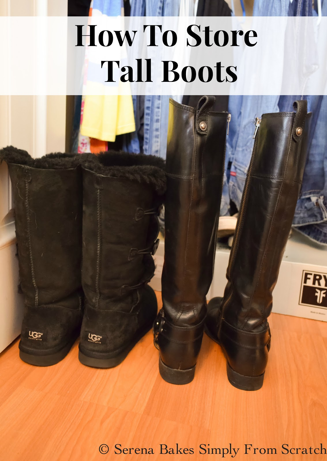 How To Store Tall Boots