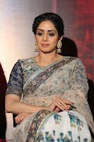 Sri Devi in designer saree stunning beauty at the launch of MOM movie Trailer~  Exclusive 033.JPG