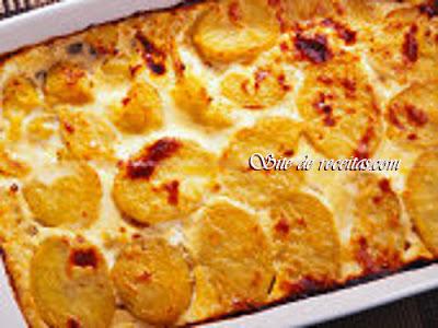 Batatas ao creme com biomassa de banana verde