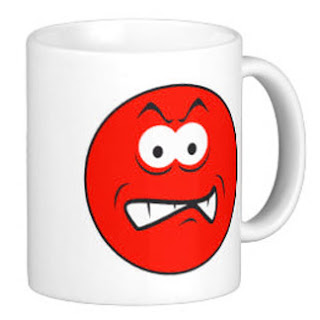 Angry Smiley Mug