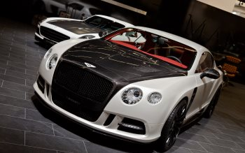 Wallpaper: Bentley Continental GT Mansory