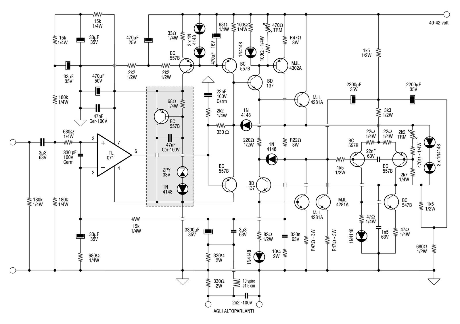 An Active Current Dump Amplifier Design Idea