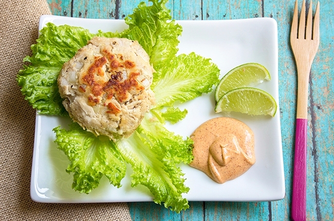 Tuna Cakes with Chipotle Mayo Recipe