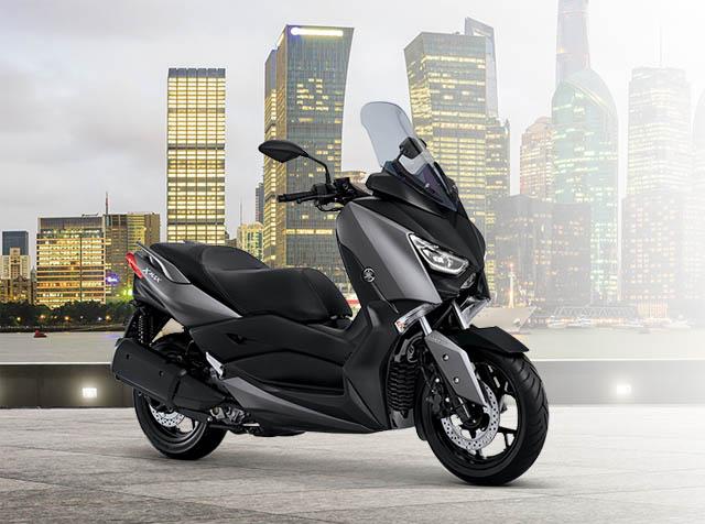 Yamaha XMAX warna masculine grey