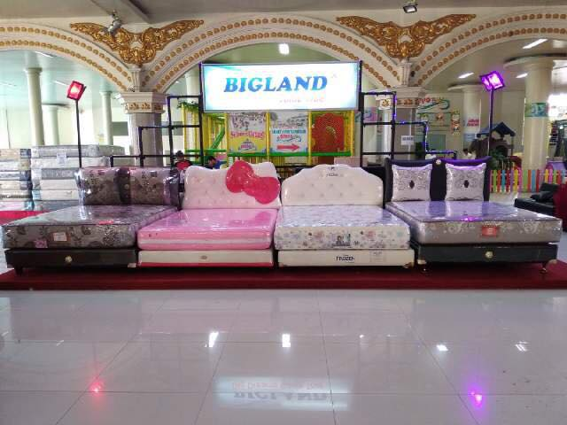 PROMO Spring Bed Bigland King Pocket Latex Purwokerto