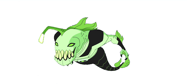 Ben 10 Alien - RipJaw wallpaper