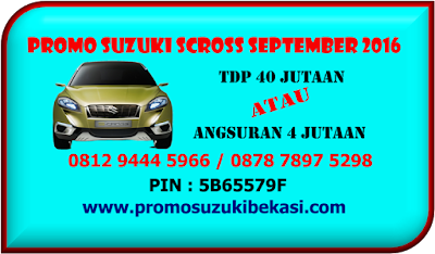 PROMO SUZUKI SCROSS SEPTEMBER 2016